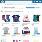 Get 50% off in Cart for Kids & Baby Apparel @ COTD