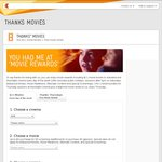 Telstra Movie Tickets $11 - No Login Required