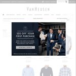 40% off Casual Wear at Van Heusen - Casual Shirts from $12