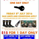 House Key Cut for $1 @ City Mitre 10 BNE CBD (Limit 5 - 1 Day Only) Friday 8th July