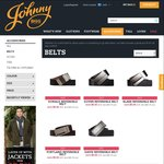 Mens Reversible Belt for $9.99 ($40 off) at Johnny Bigg $10 Shipping