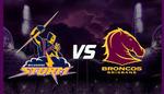 NRL - Melbourne Storm Vs Brisbane Broncos - AAMI Park VIC - Friday 26/08/2016 - 50% Discount