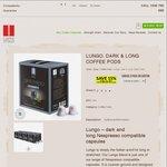 Buy a Carton (80pk) Lungo Nespresso Compatible Coffee Capsules $47.90 Shipped & Get 1 Free @ Caffe Ottavo