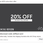 The Store by Fairfax 20% off + Free Shipping