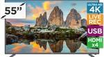 "Kogan 55"" 4K Ultra HD LED TV (LG Panel) $479 + Shipping"