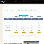 VAYA 12-Month Summer Plans: Unlimited S 1GB/Month $120, M 2GB $180, L 3GB $204, XL 8GB $396