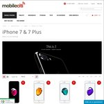iPhone 7 32GB Various Colours - $985 - $989 + Free Shipping @ Mobileciti