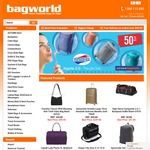 50% off American Tourister Applite 2.0 Luggage @ Bagworld (Plus LITE5 Code Gives Extra 5% off)