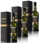 JAMESON Select Reserve Irish Whiskey (3x 700ml) Ireland Giftboxed for $129 (34% off RRP) @ Grays Online on eBay