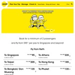 "Scoot Two-to-Go Promotion: Scoot ""2-Gether"" for Better Deals from $95"