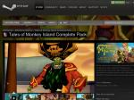 Save 86% on Tales of Monkey Island Complete Pack on Steam - $4.99USD