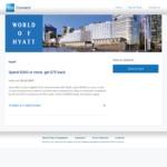 AmEx Statement Credits: Spend $300 at Hyatt Get $75 Back