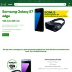 Samsung Galaxy S7 Edge 4GB Data $55/Month (24 Months Contract) + Bonus Samsung Gear VR & Gamepad Bundle with Woolworths Mobile