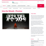 Into The Woods Tickets Clocktower Centre Moonee Ponds (Vic) $25 Preview Tickets 27/9 & $30 Adult at Children Tickets on 29/9