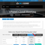 OnACloud.com.au - 70% Off - Shared cPanel Cloud Hosting - 100% Australian Web Hosting