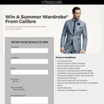 Win a Calibre Wardrobe Worth $2,000 from D'Marge