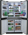 Sharp SJXE624FSL 624L French Door Refrigerator $1298 (RRP: $2599) at The Good Guys