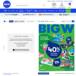 "BIG W Xmas Catalogue: Up to 40% off Toys, Board Games $20, XB1S 1TB Bundles from $359, Select Lego 20%, 55"" 4K Curved $649 +More"