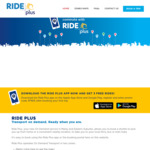 Free 3 Rides on Ride Plus (Normally $3.10 per ride) [Sydney Eastern Suburbs and Manly]