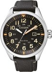 Citizen Eco-Drive Black / Green / Beige $119.00 Shipped @ Starbuy + More, New Year Sale