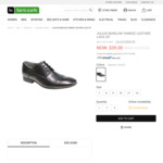 Julius Marlow Yankee Leather Lace Up Shoes $39 (Was $139.95) + $10 Postage @ Harris Scarfe