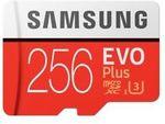 Samsung Evo Plus 256GB MicroSD $129.60 @ PC.byte eBay