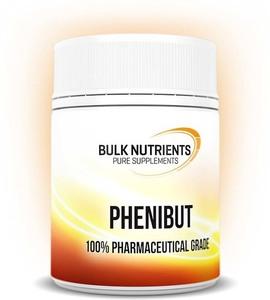 Phenibut 480 Capsules @ $99 Bulk Nutrients (or $89 10 with