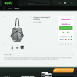 Origami Handbag of Holding @ Zing for $9 (86% off $68 RRP) - Pickup or Extra for Delivery
