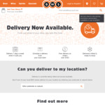 Free Delivery on All Orders over $100 at BWS (1 Hour Delivery)