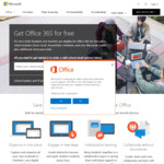 Free: Office 365 for Students and Teachers @ Microsoft Office Store AU, NZ, US, UK (Worldwide May Be)