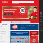[NSW] Free Delivery for Orders over $50 @ Coles - Selected Suburbs