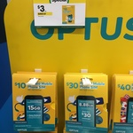 Optus $10 Prepaid Mobile Pack for $3 (70% off) @ Caltex Woolworths