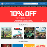 10% off Nearly Everything at OzGameShop (Excludes Pre-Orders, Consoles and Sale Items)
