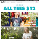 Threadless Spring Sale - All Tees $12USD (~ $15.60AUD) and 50% off Everything Else + Shipping
