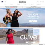 Free Shipping - No Minimum Spend @ Boohoo - Items from $1