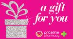 Bonus $15 w/$100 Priceline Pharmacy eGift Card, $10 w/$100 endota Spa, $10 w/$50 kikki.K @ Prezzee