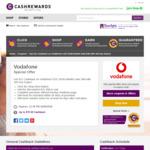 $21 Cashback on $25 Vodafone 10GB Mobile Data SIM (180 Day Expiry) @ Cashrewards