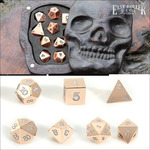 Win a Set of Metal Rose Gold Dice and Wooden Skull Box Worth ~ $330 or 1 of 5 Runner up Prizes from Easy Roller Dice