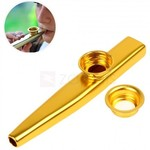 Aluminum Alloy Kazoo Musical Instrument - Random Color US $0.60 ~AU $0.80 Delivered @ Zapals