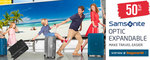 Samsonite Optic Expandable Luggage 50% off, from $179.55 with Extra 5% Coupon @ Bagworld