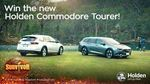 Win a 2018 Holden Commodore Calais V Tourer Worth $47,990 from Network Ten