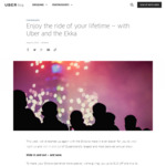 $10 off Uber Trips to/from EKKA [Brisbane] - New/Existing Customers