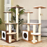 113cm Cat Scratching Tree - Beige Colour $94.95 Delivered @ Nice Pet eBay