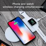 Funxim Qi Wireless Charging Pad for iPhone and Apple Watch $22.39 (~AU 30.60) @ Lululook