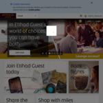 Etihad Airways - 10% & 20% Discounts on Flights to Europe for Etihad Guest Members (Free Membership)