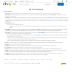 eBay 5% off Sitewide ($50 Min Spend, Maximum 3 Transactions)
