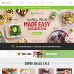 10% off Your Order ($69 Minimum Spend) @ Youfoodz
