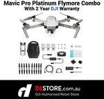 DJI Mavic Pro Platinum Fly More Combo Australian Stock 2 Year Warranty for $1385.10 Delivered @ D1store eBay