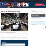 Free Meal and Companionship for Those Doing It Tough during Xmas @ The Salvos