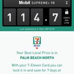 [QLD] Supreme+ 98 Fuel 114.7c Per Litre @ 7-Eleven, Palm Beach North